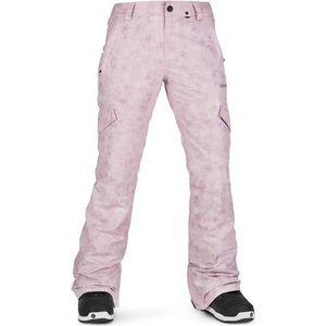 LIKE NEW Volcom Pink Acid Wash Snowboard Pants